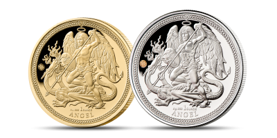 The Two Coin Gold & Silver Angel Set 2019