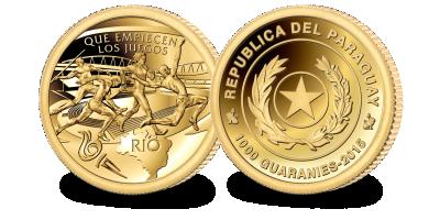 2016 Rio Olympics Gold Coin