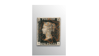 Penny Black Stamp (1840) The Penny Black and  1⁄10 oz Gold Coin Set
