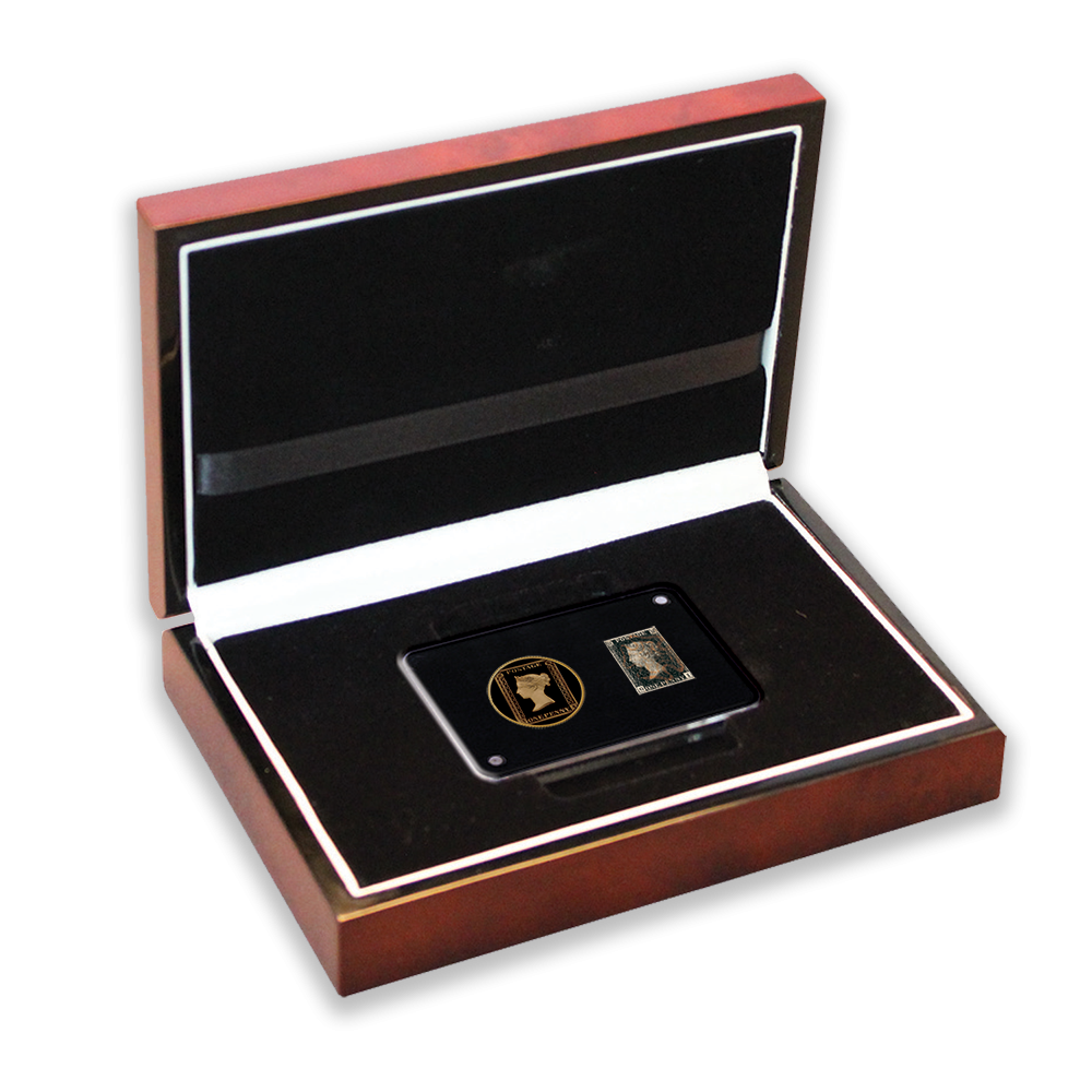The Penny Black and  1⁄10 oz Gold Coin Set Box