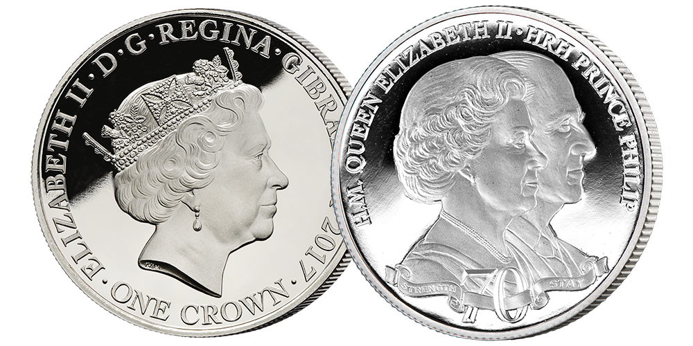 Official 'Royal Platinum Wedding Anniversary' Photographic Coin Premium Pack