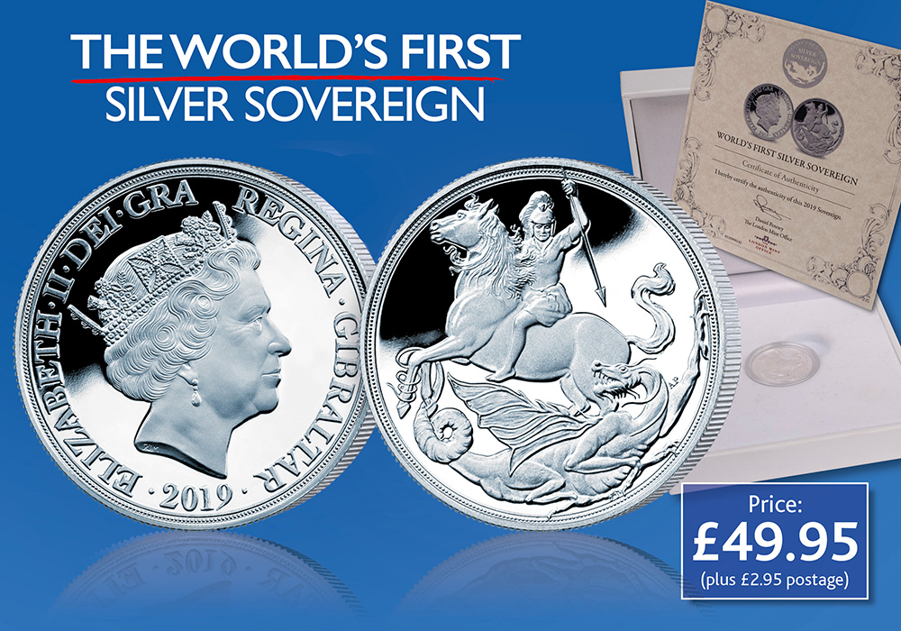 The World's First Silver Sovereign