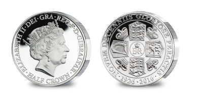 QEII 90th Birthday Half Crown