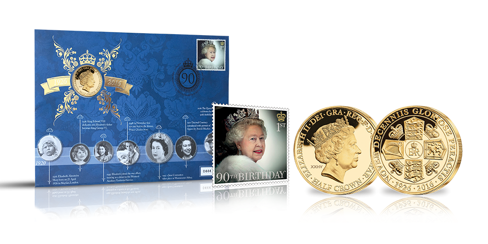 A unique coin and stamp cover, marking a defining moment in history.