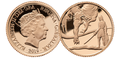 The 'Into the Dragon's Lair' Quarter Sovereign