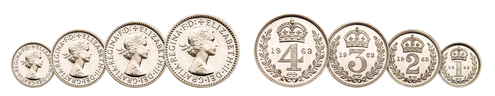 Queen Elizabeth II Maundy Coins