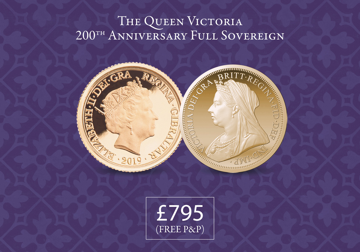 Queen Vic 200 Full Sovereign (with free gift)