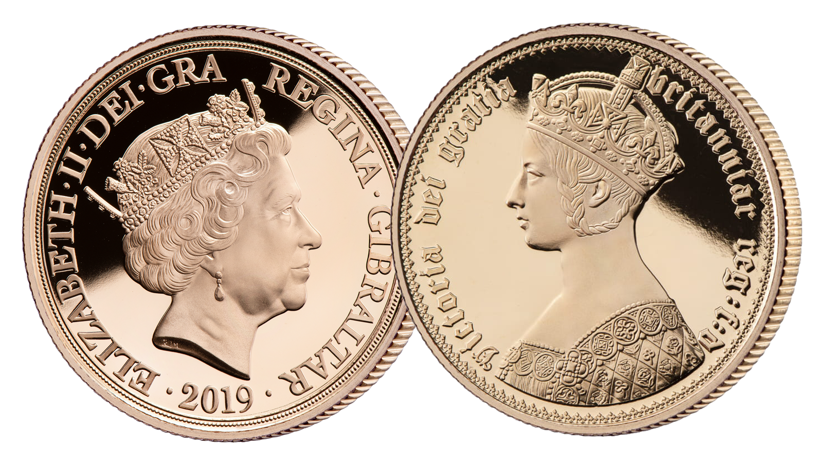 Queen Victoria 200th Anniversary Double Sovereign