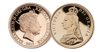 The Queen Victoria 200th Anniversary Gold Half Sovereign