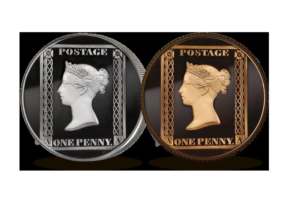 Penny Black 2 Coin Set