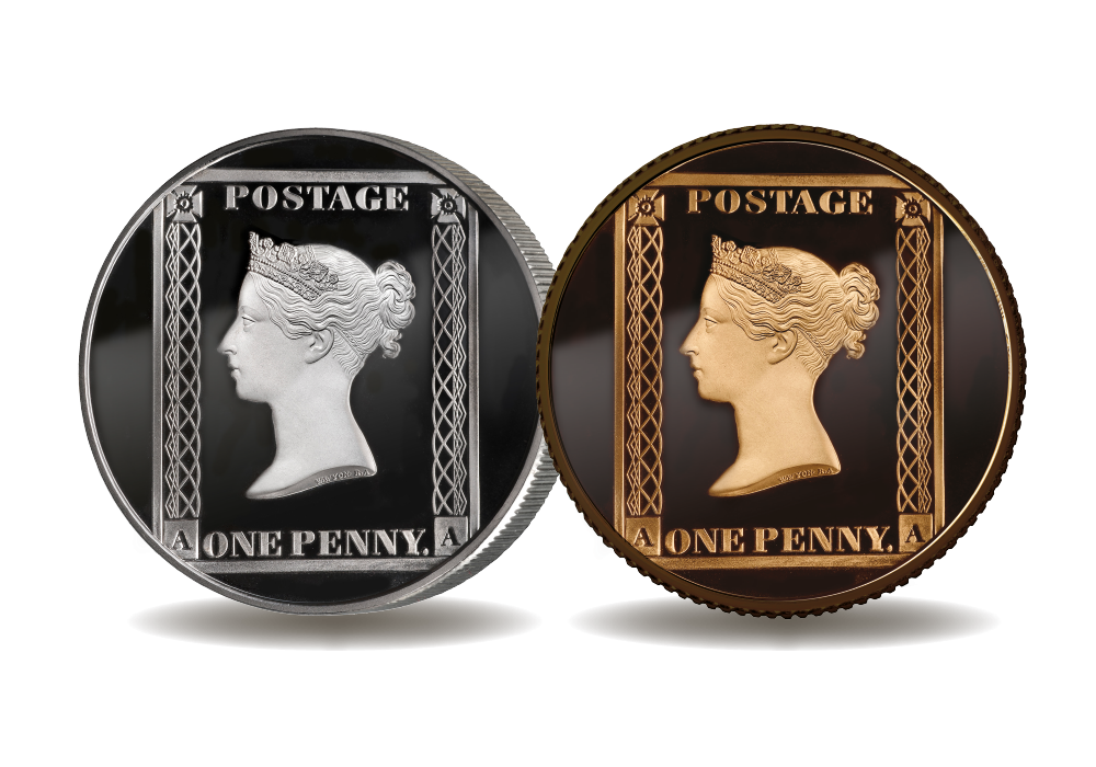 Penny Black 2 Coin Set
