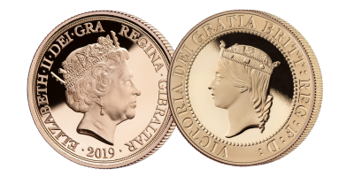 Queen Victoria 200th Anniversary Quintuple Sovereign