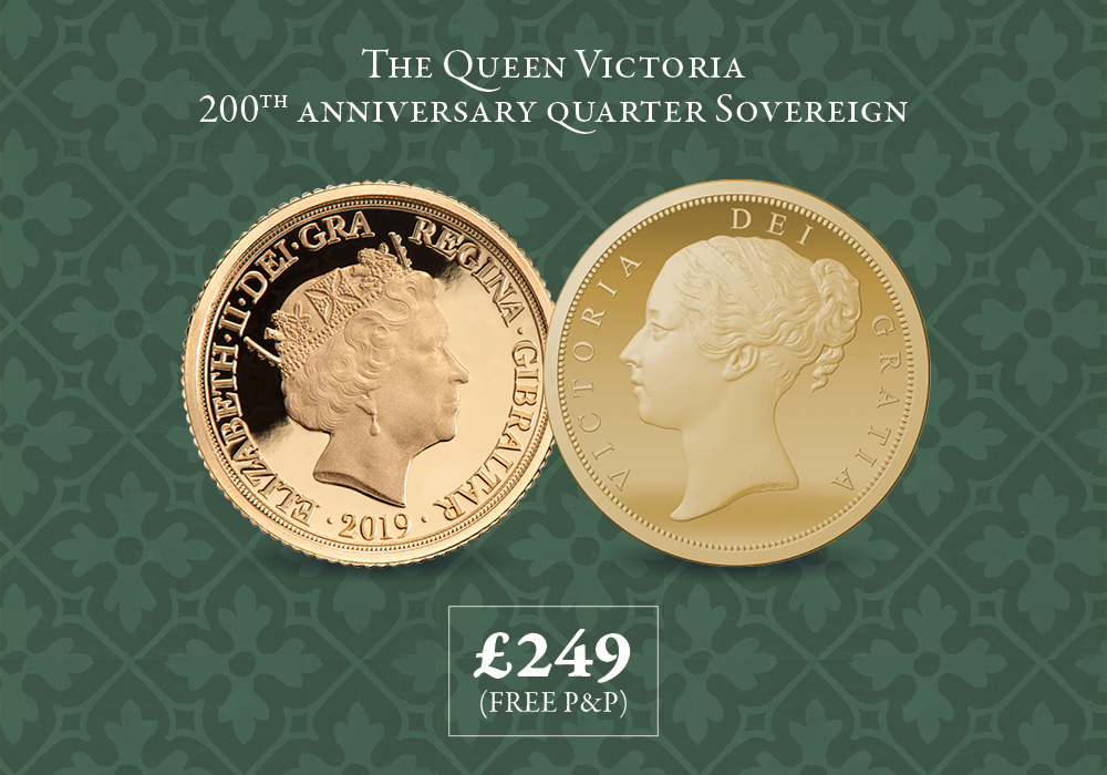 Queen Victoria 200th Anniversary Quarter Sovereign
