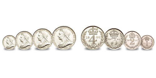 Queen Victoria Maundy coins