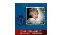 The Queen Elizabeth II 90th Birthday Philatelic Numismatic Cover