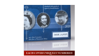 The Queen Elizabeth II 90th Birthday Philatelic Numismatic Cover