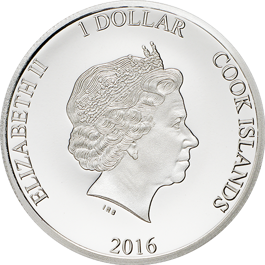 Double Headed Queens 90th Birthday Silver Coin 2