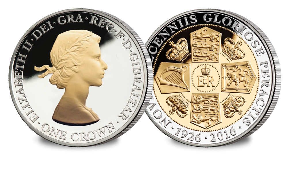 Her Majesty's 90th Birthday Crown Coin - The Gillick Portrait
