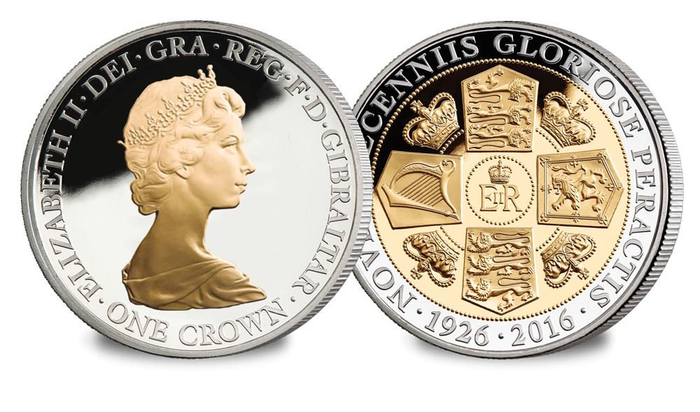 Her Majesty's 90th Birthday Crown Coin - The Machin Portrait