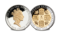 Queens 90th Birthday Crown Coin - The Maklouf Portrait