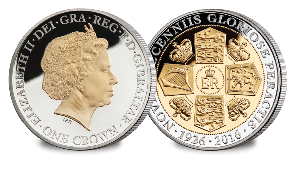 Her Majesty's 90th Birthday Crown Coin - The Rank-Broadley Portrait
