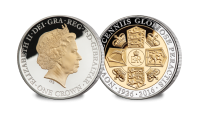 Queens 90th Birthday Crown Coin - The Rank-Broadley portrait