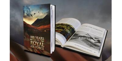 The Royal Air Force Centenary Hardback Book