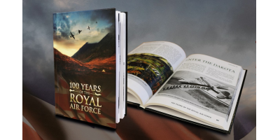 The Royal Air Force Centenary Hardback Book