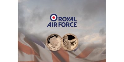 The Official Royal Air Force Half Sovereign