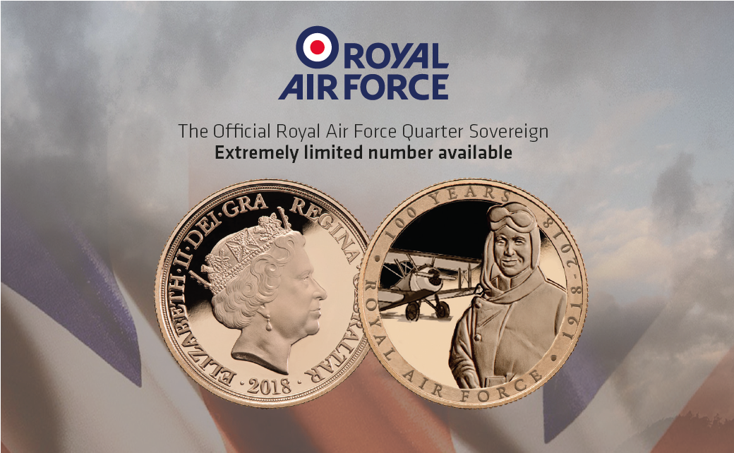 The Official Royal Air Force Quarter Sovereign