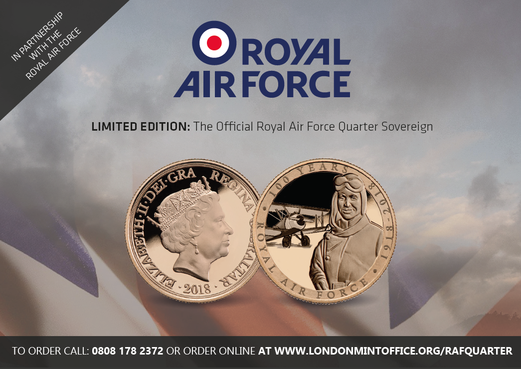 Royal Air Force Limited Edition Sovereign