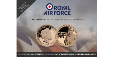 Official Royal Air Force Quarter Sovereign