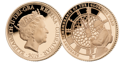 Remembrance 100 'They Sacrificed' Half Sovereign