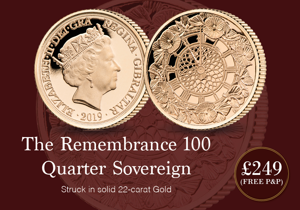 Remembrance 100 'They Answered the Call' Quarter Sovereign