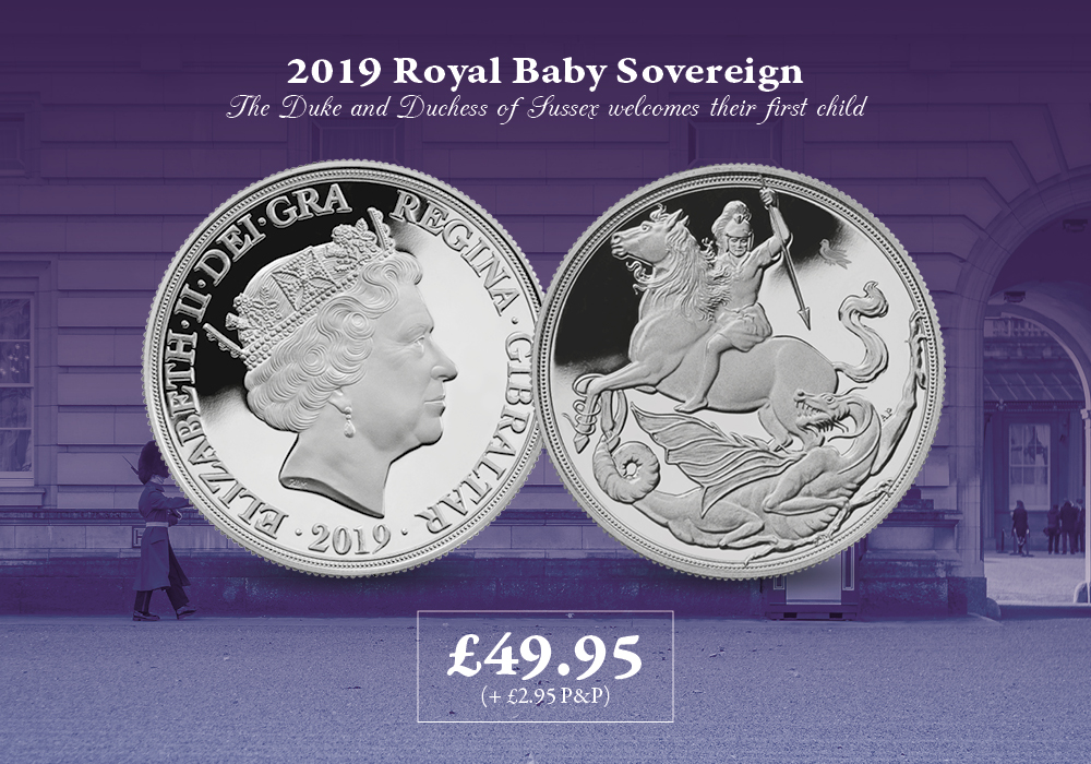 Royal Baby 2019 Silver Sovereign | The London Mint Office