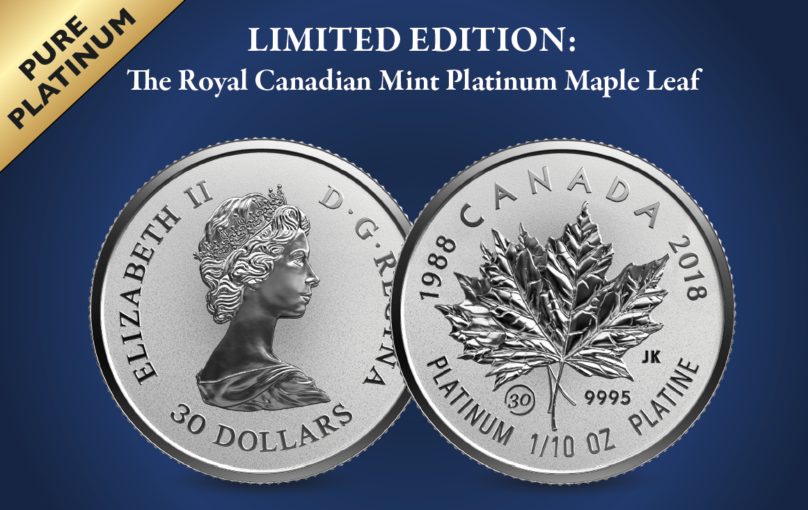 Celebrating 30 years since the first Platinum Maple Leaf