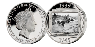 Official Merchant Navy Association D-Day 75th Anniversary Commemorative Coin