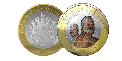 The Official WBC Rumble on the Rock 'Whyte Vs Povetkin' £2 Coin