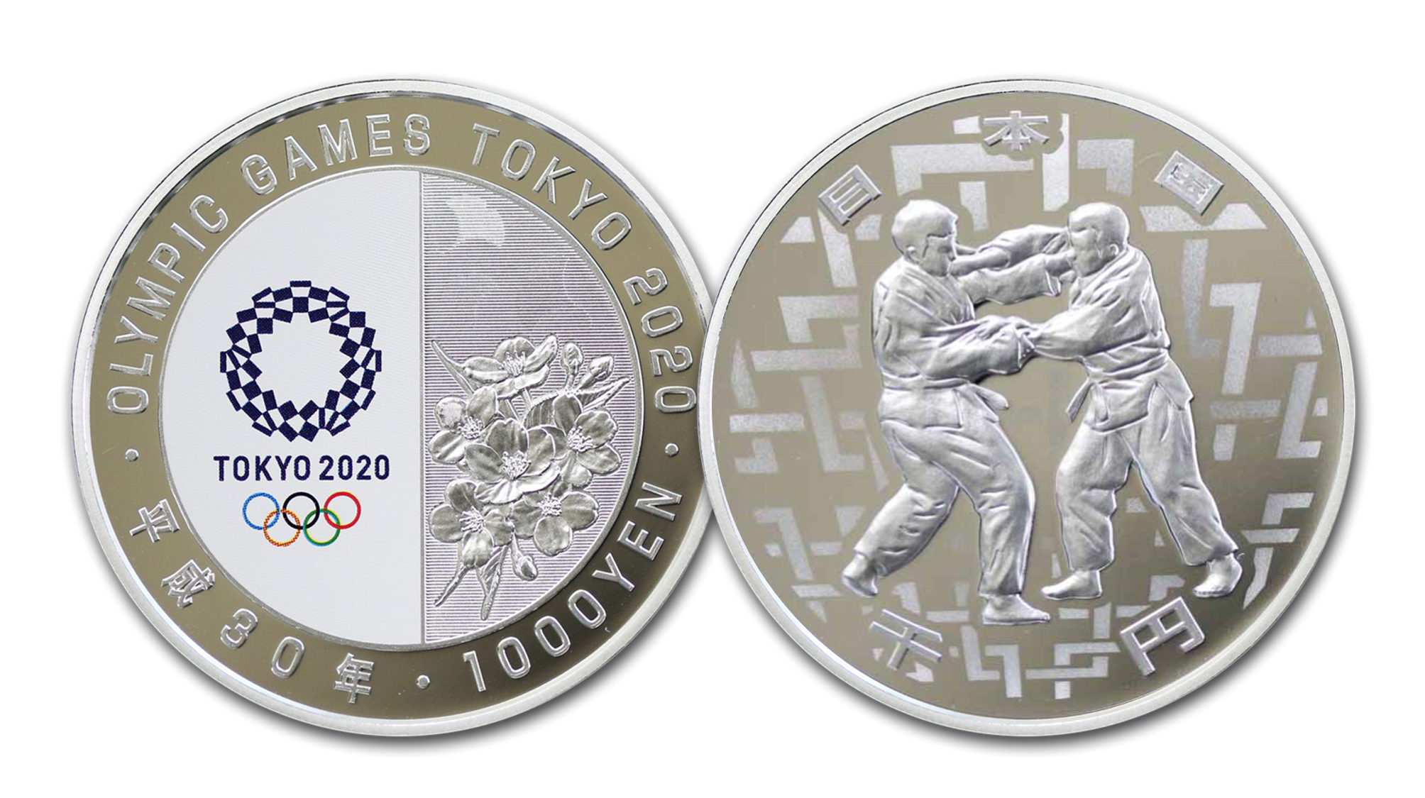 In celebration of this prestigious games, you can become a part of this worldwide event by owning a beautiful 1 oz pure Silver coin, officially issued by the Japan Mint for the 2020 Tokyo Games.