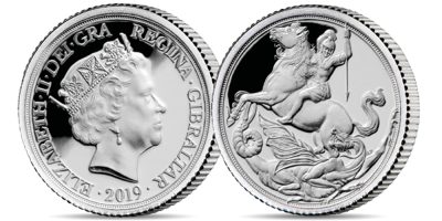 The World's First Silver Quarter Sovereign