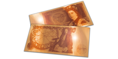 First Iconic One Pound Bank Note