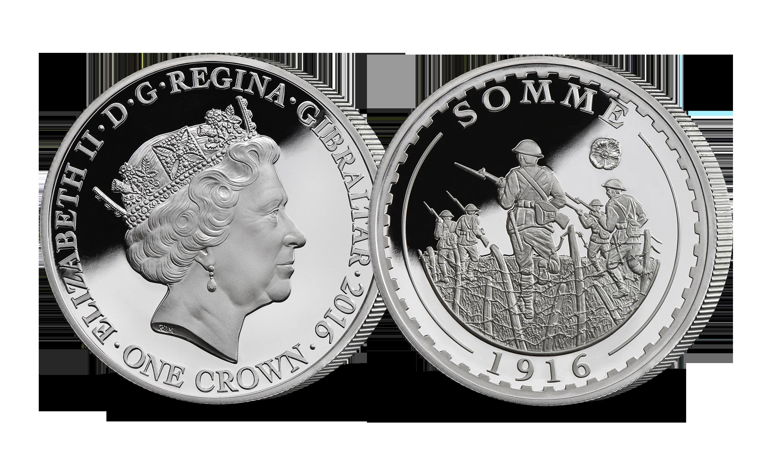The Somme Centenary 1oz Silver Coin
