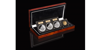 Somme Centenary Set with 1oz Gold Coin