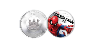 Spiderman Light Up Coin