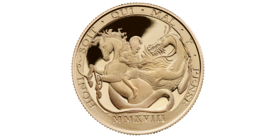 St George and Dragon Double Sovereign