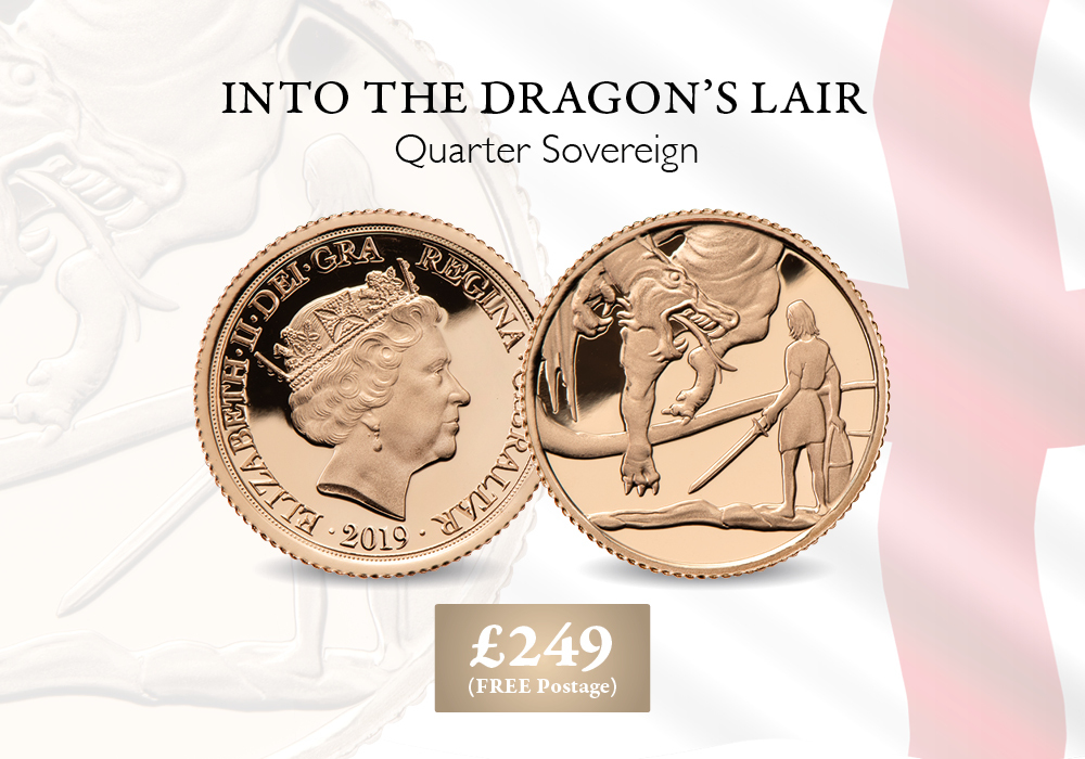 St.George's Day Quarter Sovereign