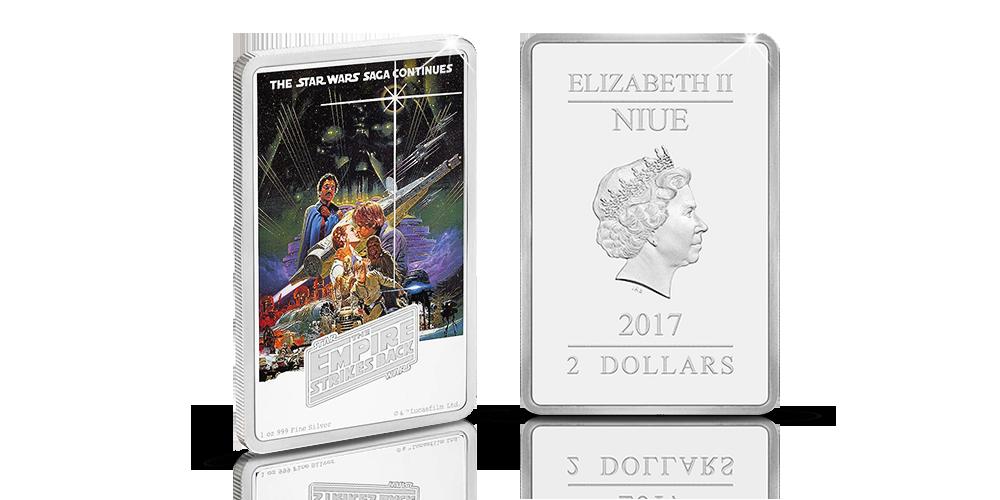 Star Wars: The Empire Strikes Back 1oz Silver Coin