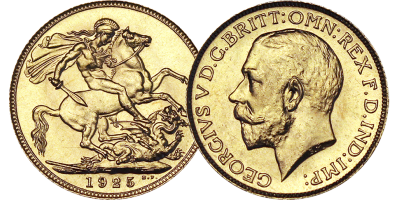 The 1925 British Gold Sovereign