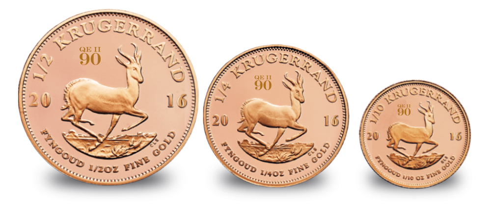 2016 Krugerrand Fractional Queens 90th birthday