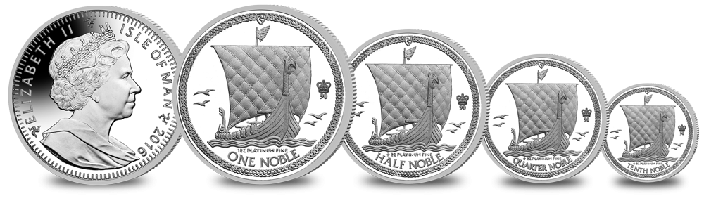 Platinum Noble Coin